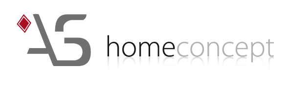 home staging logo as homeconcept