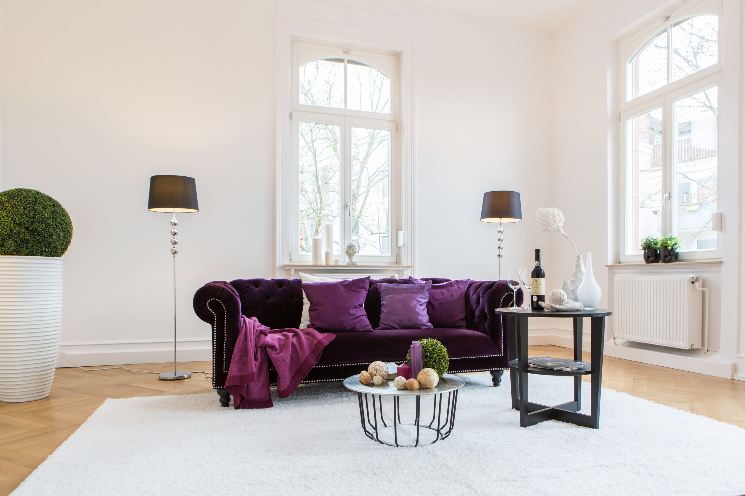 home staging exklusive wohnung